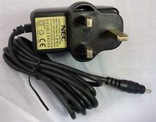 NEC MRD-ADM-0004-05 12V 0.8A 10W UK 3 Pin Mains Power Adapter