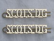 Royal Scots Dragoon Guards, SCOTSDG, Schultertitel,Anodised Aluminium Staybright