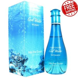 Davidoff Cool Water Into The Ocean Eau de Toilette Spray for Women 100ml
