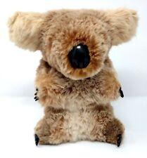 """Vintage Stuffed Koala Real Fur by Koala & Joey Gifts in Queensland Australia 9"""""""