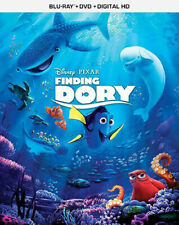 Finding Dory (Blu-ray, 2016) + Dvd Brand New Sealed Nemo with slipcover