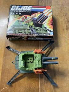 1987 GI Joe SLAM Complete With Mint Box 3.375 ARAH Real American Hero