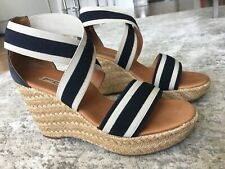 Paul Green Espadrille Wedge Sandal sz 7.5