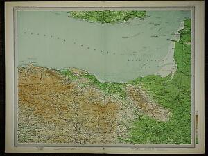 "1903 Mappa ~ Taunton Exmoor Lynton "" Minehead "" Bridgwater & Villaggi"
