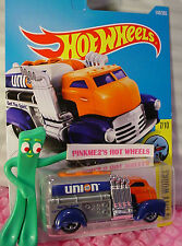 FAST GASSIN #144✰Orange/Gray/Blue;5sp;UNION 76✰✰2017 US Hot Wheels Kmart case F