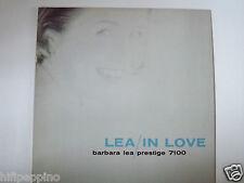 """BARBARA LEA """"LEA IN LOVE"""" VINILE RARO PRESTIGE 7100"""