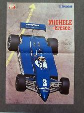 AA52 - POSTER - 1981 - MICHELE ALBORETO , TYRRELL , 1981- 45x31 Cm
