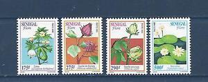 SENEGAL - 1199-1202 -  MH  - 1996 - FLOWERS