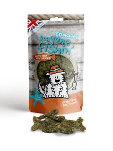 Dog Gone Fishin' White Fish With Turmeric Crunchies 75g (Pack of 6)