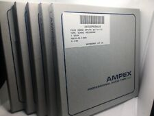 """Ampex 631 Reel To Reel Tapes 7"""" 1/4"""" Lot Of 5 BUNDLE AND SAVE (used)"""