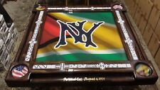 Guyana Themed Domino Table by Domino Tables by Art