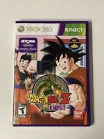 Dragon Ball Z for Kinect Microsoft Xbox 360 2012 Complete CIB Manual DBZ