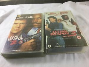 VHS Bundle - Lethal Weapon 2 and 3