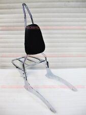 Backrest Sissy Bar for Yamaha RoadStar 1700 XV1700 04-13 Wildstar XV1600 m8#Tr