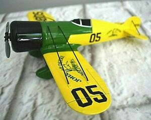 2003 First Gear John Deere 1932 Wedell Williams Racer Airplane Model Die Cast