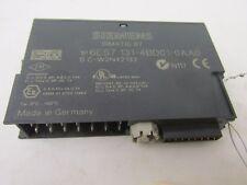 Siemens SIMATIC S7 6ES7 131-4BD01-0AA0 SC-W3N42133 4 DI DC24V 42966EL