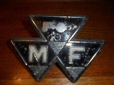 More details for original massey ferguson tractor front grill badge vintage