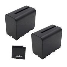 2x NP-F960 NPF960 Battery + BONUS for Sony CCD-TR940 TR930 TR910 TR67 TR818