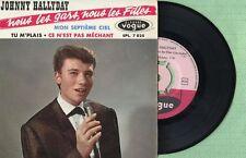 JOHNNY HALLYDAY Nous Les Gars Nous les Filles VOGE EPL7825 France 1961 EP VG+