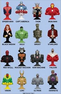 MARVEL MANIA MICROPOPZ COMIC BOOK SUPER HEROES ACTION FIGURES YOU CHOOSE U PICK