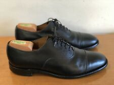 Loake Made in England - Lace-Up Shoes Size Mens 8.5 - Black Leather