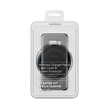 Samsung EP-WG95G Galaxy S8+ Starter Kit Wireless Charger Pad + Clear Cover OVP
