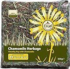 Burgess Excel Hay Chamomile Herbage 500g X 5