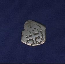 BOLIVIA SPANISH COLONIAL FERDINAND VI (1)749-P  1 REAL SILVER COB COIN, FINE+