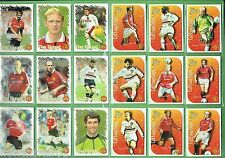 #DD. 1999 SET OF FUTERA MANCHESTER UNITED FOOTBALL CARDS