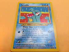 Pokemon TCG - Totodile 85/105 Neo Destiny Unlimited Common Card Mint