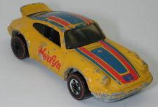 Redline Hotwheels Yellow Herfy's 1975 Porsche P-911  oc14090