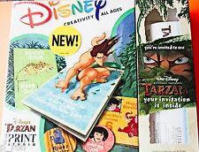 Disney Tarzan CD Sealed Box CD Rom   *** FREE Shipping ***
