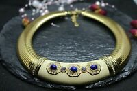 Vintage Signed Christian Dior Necklace 80s Rare 17 Inches