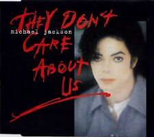 MICHAEL JACKSON - They don't care about us 6TR CDM 1996 POP