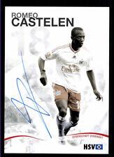 Romeo Castelen  Autogrammkarte Hamburger SV 2009-10 Original Signiert + A 120318
