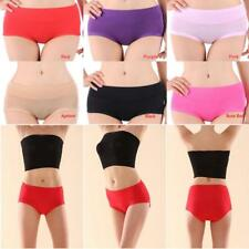 Health Care Women Cozy Underpant Bamboo Fiber Antibacterial Brief Underwears