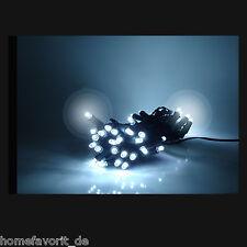 Eiszapfen LED Lichterkette SnowMotion Eisregen Schneefall Vorhang innen außen