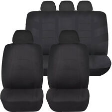BLACK RACER AIRBAG COMPATIBLE SEAT COVER SET for JEEP CHEROKEE COMPASS
