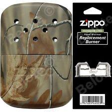 Zippo REALTREE CAMO Refillable Hand Warmer & Additional Burner 40314 40349 44003