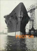 FRENCH  PAQUEBOT  FRANCE  LE NORMANDIE  SS    PHOTO BATEAU 13x18  OCEAN LINER