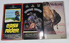 Vintage Biker Movie VHS Lot  Chrome Hearts Hellcats Easy Rider picture