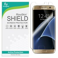 For Galaxy S7 Edge Screen Protector RinoGear USA Made Lifetime Replacements
