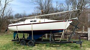 1977 Seafarer 22' Sailboat & Trailer - Pennsylvania