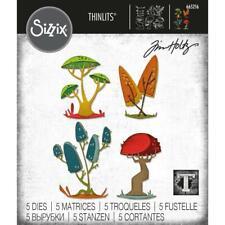 Sizzix Thinlits Die Set 5pk - Funky Toadstools by Tim Holtz