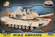 COBI M1A2 Abrams / 2619 / 810 elem blocks  WWII US Army  tank  WOT