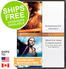 Kingdom of Heaven / Master and Commander Far Side of the World (DVD, 2010) NEW,
