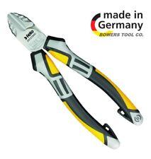 "Felo 7"" Diagonal Side Cutter Pliers Ergonomic Comfort Grip Handle w Tether"