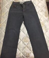 Avirex pantalone uomo 29 tg 42 /44 blu gamba dritta vintage boyfriend T1354