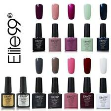 Elite99 7.3ml UV Nagellack Gel Polish Nagelgel Set 10 Farben mit Top & Base Coat