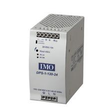 IMO Power Supply 115/230V AC Input 48V DC Output 120 Watts 2.5A Din Rail Mount